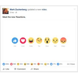 Facebook Emoticons Post Likes
