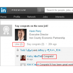 1 Site to Buy Linkedin Congrats New Job(Likes & Comments