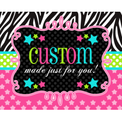 PRIVATE CUSTOMIZED ORDERS