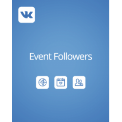 Buy VK Event/Meet Followers